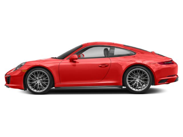 Lava Orange 2017 Porsche 911 Pictures 911 Carrera 4 Coupe photos side view