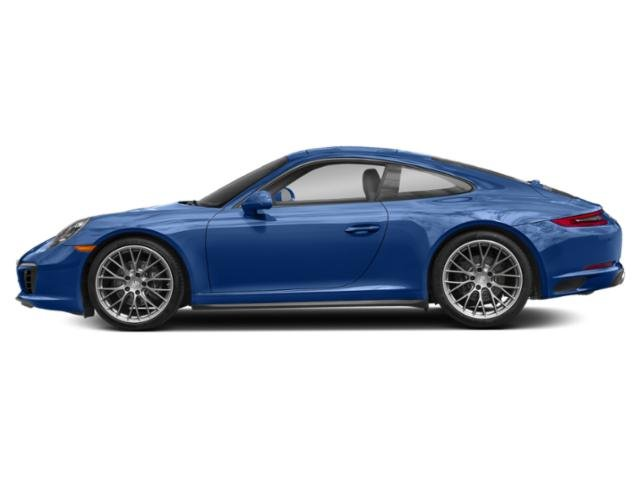 Sapphire Blue Metallic 2017 Porsche 911 Pictures 911 Carrera 4 Coupe photos side view