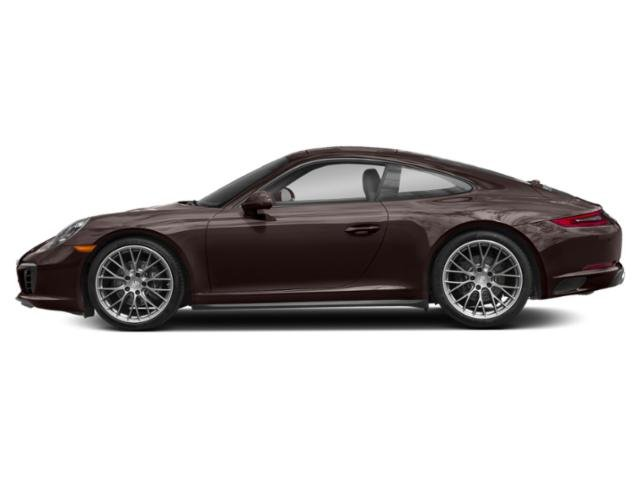 Mahogany Metallic 2017 Porsche 911 Pictures 911 Carrera 4 Coupe photos side view