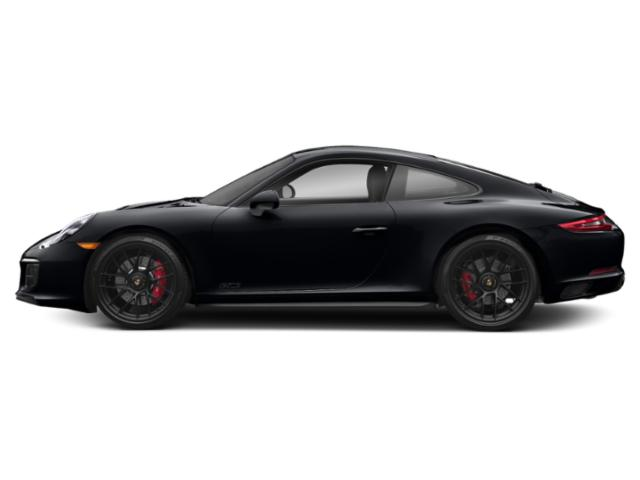 Jet Black Metallic 2017 Porsche 911 Pictures 911 Carrera 4 GTS Coupe photos side view