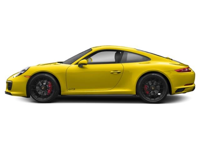 Racing Yellow 2017 Porsche 911 Pictures 911 Carrera 4 GTS Coupe photos side view