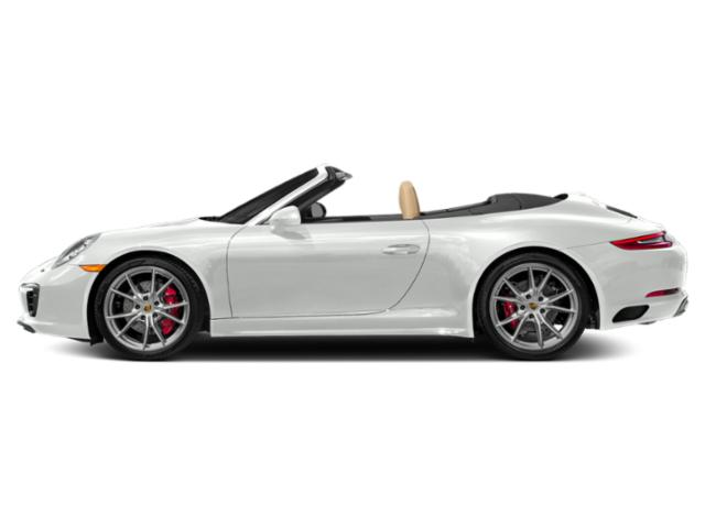 White 2017 Porsche 911 Pictures 911 Cabriolet 2D 4 GTS AWD H6 photos side view