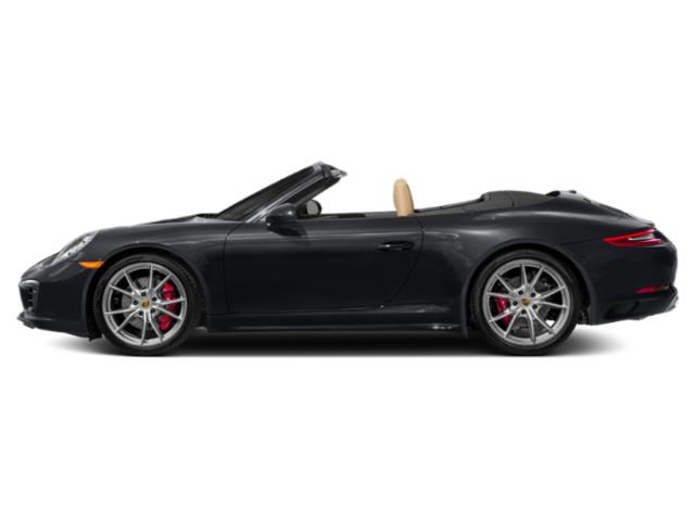 Jet Black Metallic 2017 Porsche 911 Pictures 911 Cabriolet 2D 4 GTS AWD H6 photos side view