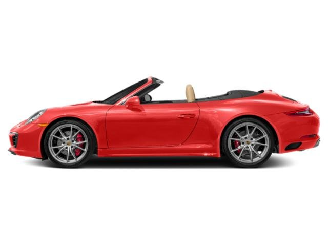 Lava Orange 2017 Porsche 911 Pictures 911 Cabriolet 2D 4 GTS AWD H6 photos side view