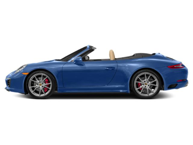 Sapphire Blue Metallic 2017 Porsche 911 Pictures 911 Cabriolet 2D 4 GTS AWD H6 photos side view