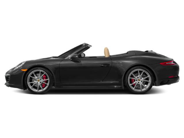 Custom Color Non-Metallic 2017 Porsche 911 Pictures 911 Carrera 4S Cabriolet photos side view