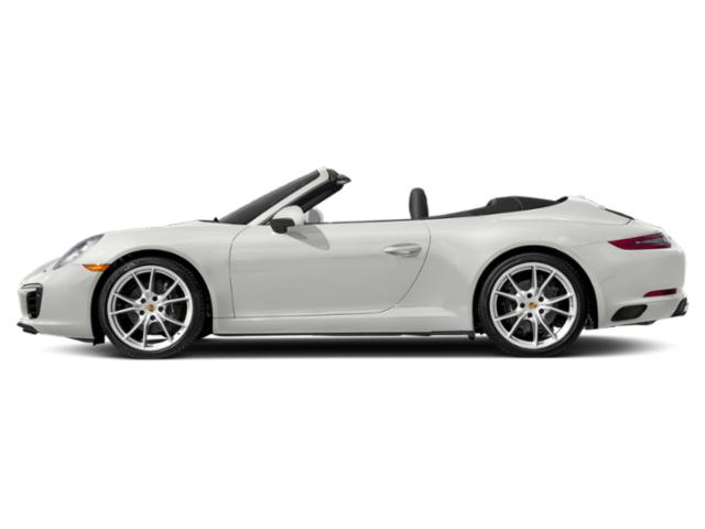 White 2017 Porsche 911 Pictures 911 Carrera 4 Cabriolet photos side view