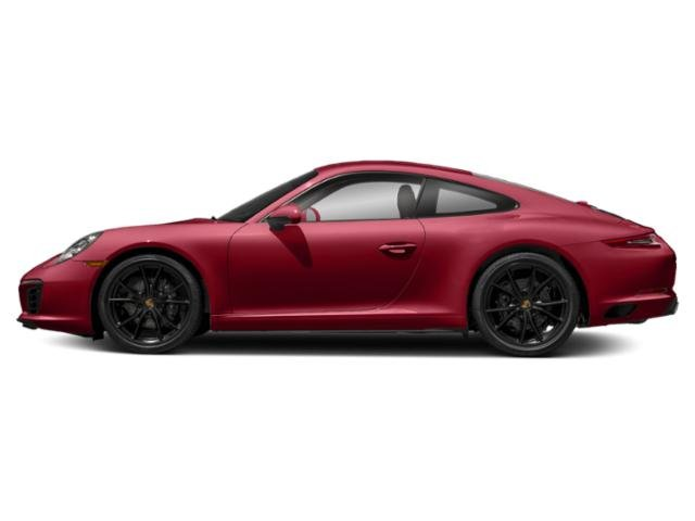 Carmine Red 2017 Porsche 911 Pictures 911 Coupe 2D H6 Turbo photos side view