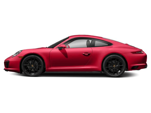Guards Red 2017 Porsche 911 Pictures 911 Coupe 2D H6 Turbo photos side view
