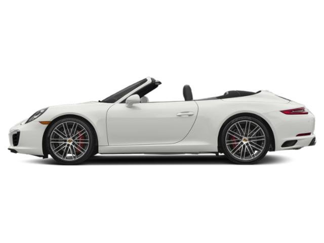 White 2017 Porsche 911 Pictures 911 Carrera S Cabriolet photos side view