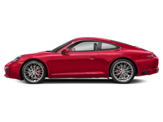 Guards Red 2017 Porsche 911 Pictures 911 Coupe 2D S H6 Turbo photos side view
