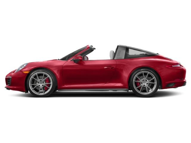 Carmine Red 2017 Porsche 911 Pictures 911 Targa 4 GTS photos side view