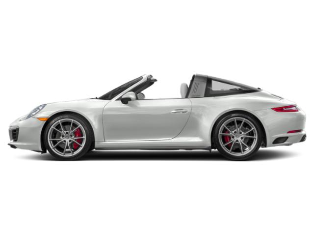 White 2017 Porsche 911 Pictures 911 Targa 4 GTS photos side view