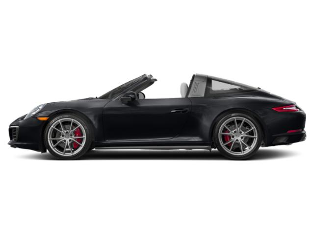 Jet Black Metallic 2017 Porsche 911 Pictures 911 Targa 4 GTS photos side view