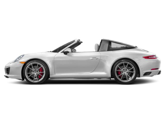 Carrara White Metallic 2017 Porsche 911 Pictures 911 Targa 4 GTS photos side view