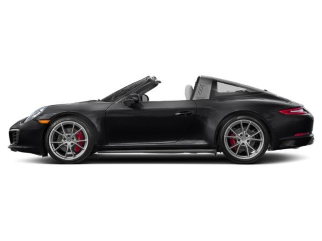 Black 2017 Porsche 911 Pictures 911 Targa 4 GTS photos side view
