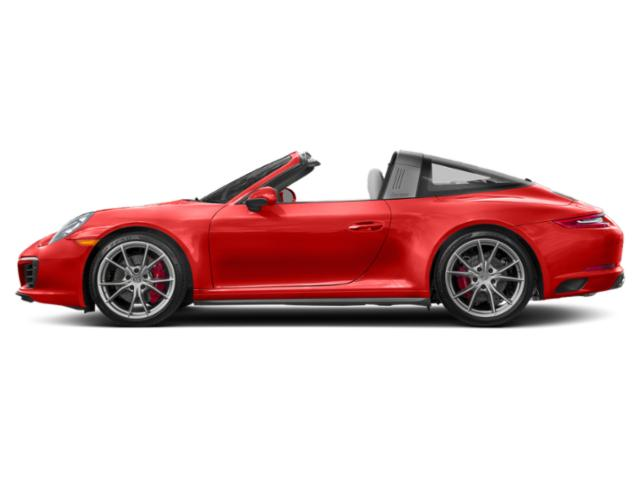 Lava Orange 2017 Porsche 911 Pictures 911 Targa 4 GTS photos side view