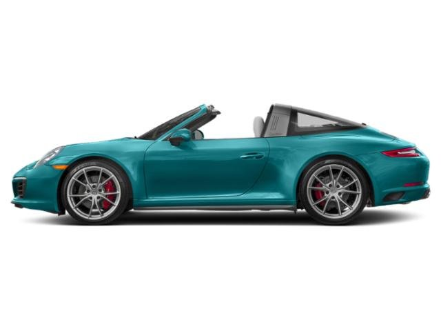 Miami Blue 2017 Porsche 911 Pictures 911 Targa 4 GTS photos side view