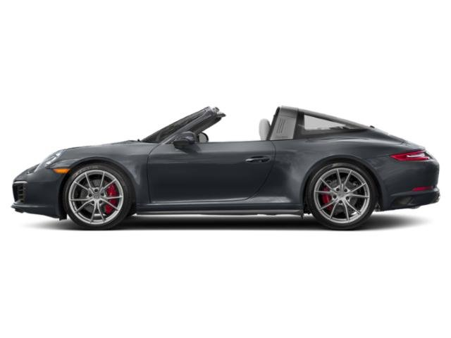 Graphite Blue Metallic 2017 Porsche 911 Pictures 911 Targa 4 GTS photos side view