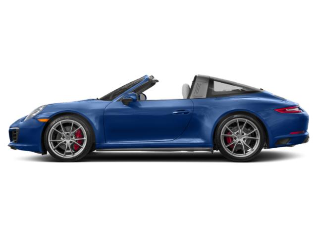 Sapphire Blue Metallic 2017 Porsche 911 Pictures 911 Targa 4 GTS photos side view