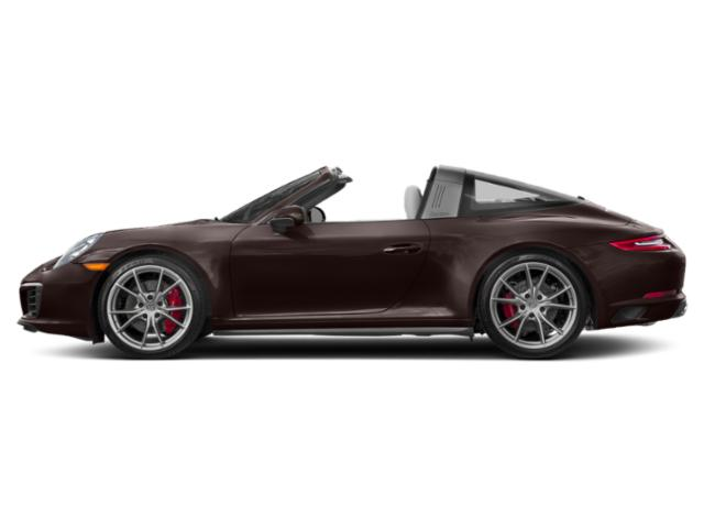Mahogany Metallic 2017 Porsche 911 Pictures 911 Targa 4 GTS photos side view