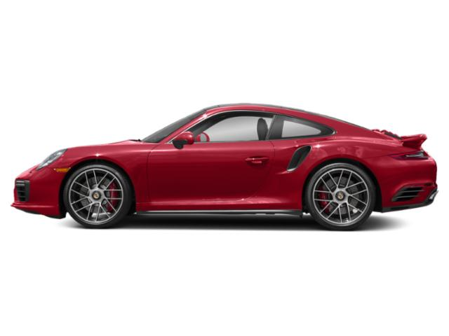 Carmine Red 2017 Porsche 911 Pictures 911 Coupe 2D Turbo AWD H6 photos side view