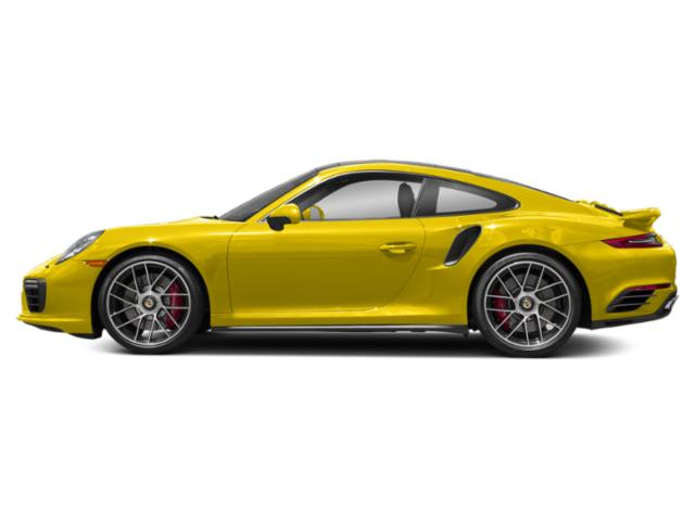 Racing Yellow 2017 Porsche 911 Pictures 911 Coupe 2D Turbo AWD H6 photos side view