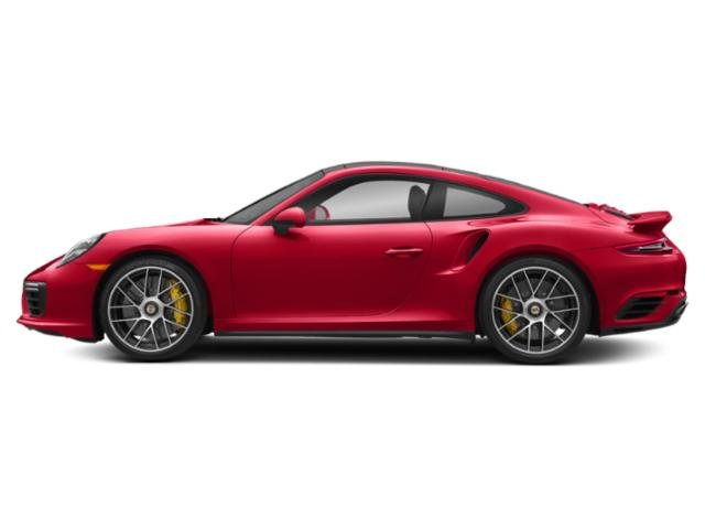 Guards Red 2017 Porsche 911 Pictures 911 Coupe 2D Turbo S AWD H6 photos side view