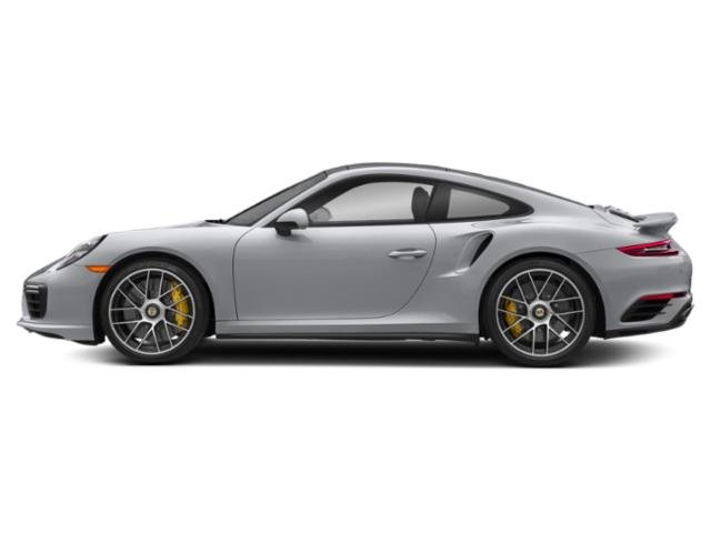 Rhodium Silver Metallic 2017 Porsche 911 Pictures 911 Coupe 2D Turbo S AWD H6 photos side view