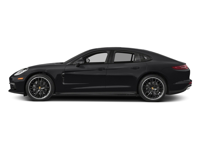 Black 2017 Porsche Panamera Pictures Panamera 4S Executive AWD photos side view