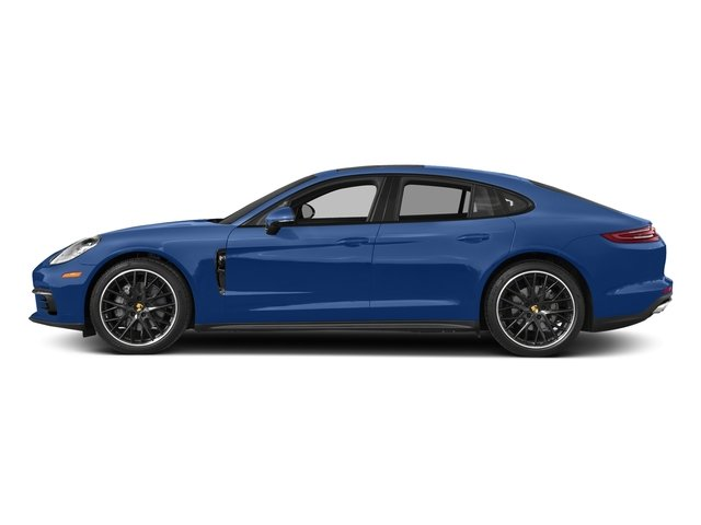 Sapphire Blue Metallic 2017 Porsche Panamera Pictures Panamera 4S Executive AWD photos side view