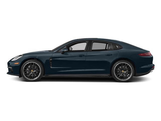 Night Blue Metallic 2017 Porsche Panamera Pictures Panamera 4S Executive AWD photos side view