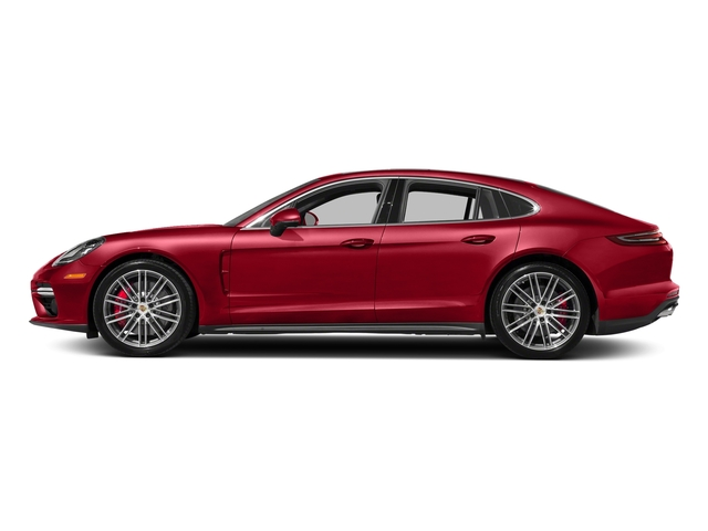 Carmine Red 2017 Porsche Panamera Pictures Panamera Turbo Executive AWD photos side view