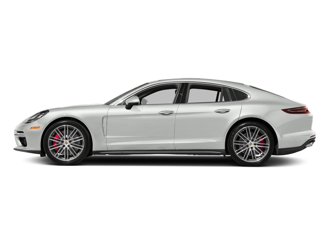 White 2017 Porsche Panamera Pictures Panamera Turbo Executive AWD photos side view
