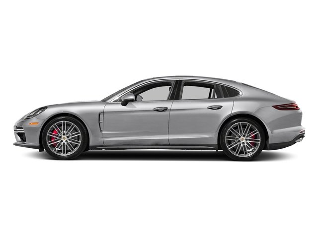 GT Silver Metallic 2017 Porsche Panamera Pictures Panamera Turbo Executive AWD photos side view