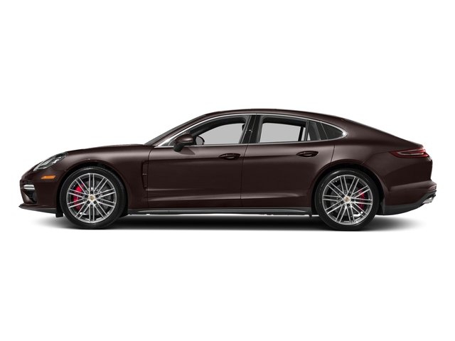 Mahogany Metallic 2017 Porsche Panamera Pictures Panamera Turbo Executive AWD photos side view