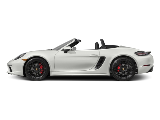 White 2017 Porsche 718 Boxster Pictures 718 Boxster Roadster 2D S H4 Turbo photos side view