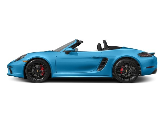 Miami Blue 2017 Porsche 718 Boxster Pictures 718 Boxster Roadster 2D S H4 Turbo photos side view