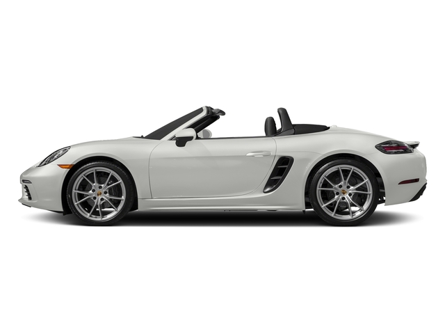 White 2017 Porsche 718 Boxster Pictures 718 Boxster Roadster photos side view