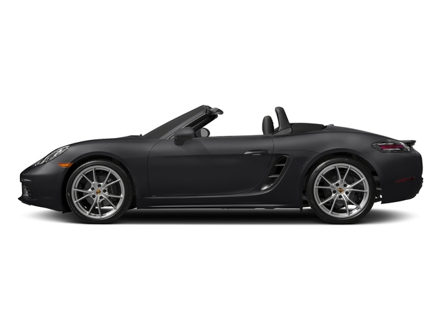 Black 2017 Porsche 718 Boxster Pictures 718 Boxster Roadster 2D H4 Turbo photos side view