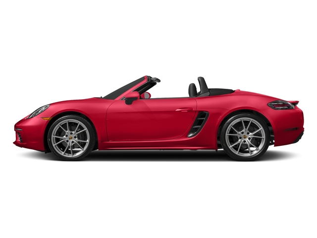 Guards Red 2017 Porsche 718 Boxster Pictures 718 Boxster Roadster photos side view