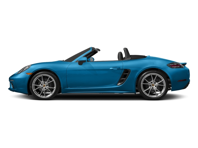 Miami Blue 2017 Porsche 718 Boxster Pictures 718 Boxster Roadster photos side view