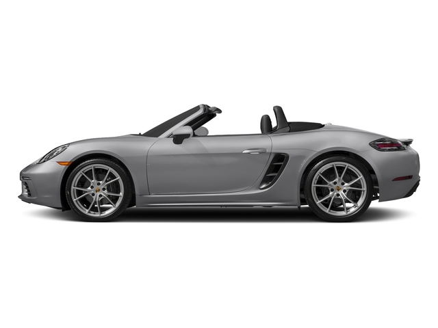 GT Silver Metallic 2017 Porsche 718 Boxster Pictures 718 Boxster Roadster photos side view