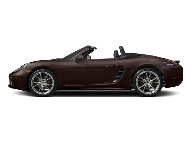 Mahogany Metallic 2017 Porsche 718 Boxster Pictures 718 Boxster Roadster photos side view