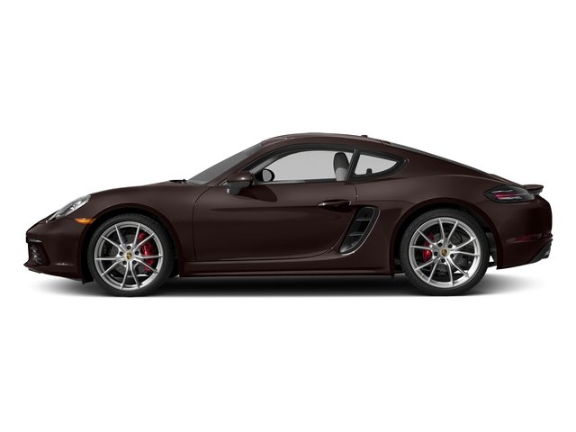 Mahogany Metallic 2017 Porsche 718 Cayman Pictures 718 Cayman Coupe 2D S H4 Turbo photos side view