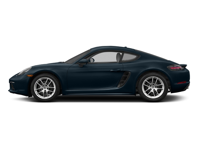 Night Blue Metallic 2017 Porsche 718 Cayman Pictures 718 Cayman Coupe photos side view