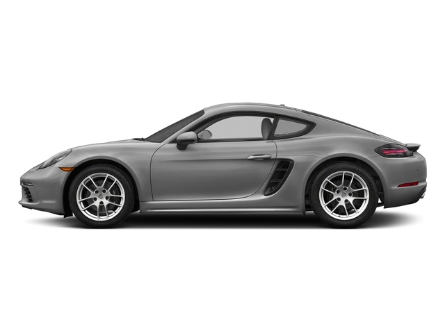 Rhodium Silver Metallic 2017 Porsche 718 Cayman Pictures 718 Cayman Coupe photos side view