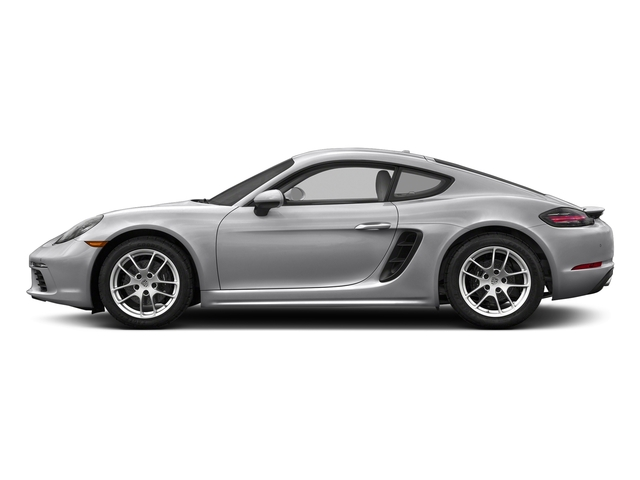 GT Silver Metallic 2017 Porsche 718 Cayman Pictures 718 Cayman Coupe photos side view