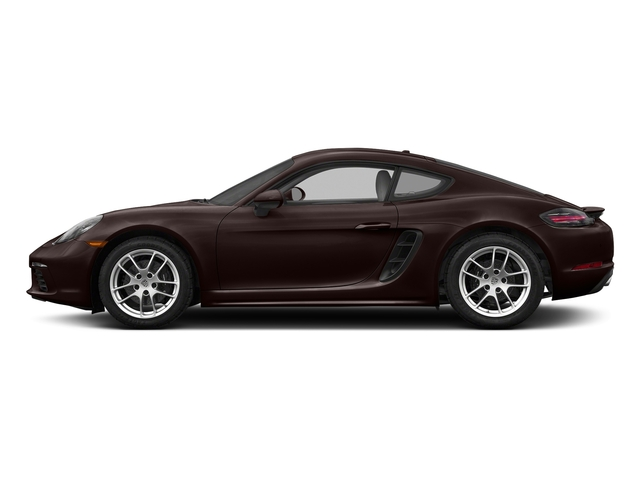 Mahogany Metallic 2017 Porsche 718 Cayman Pictures 718 Cayman Coupe photos side view