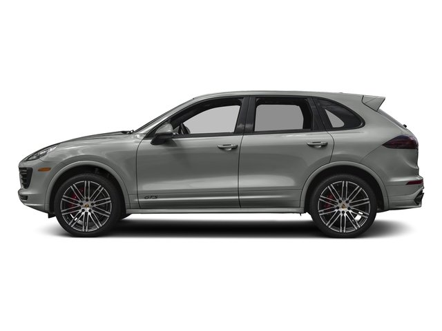 Rhodium Silver Metallic 2017 Porsche Cayenne Pictures Cayenne Utility 4D GTS AWD V6 Turbo photos side view